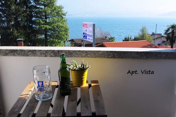 Casa vacanze Vista - 50 metri dal Lago di Como - Gera Lario - Apartment
