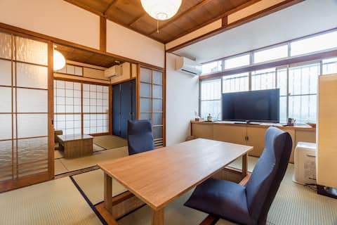 Japanestay House Hotel. 5 mins from the station.