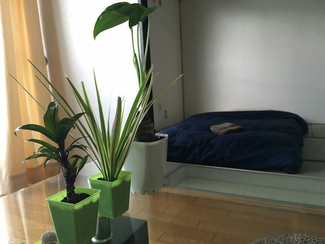 (ツイン)プライベートルーム、博多 - Fukuoka - Apartment