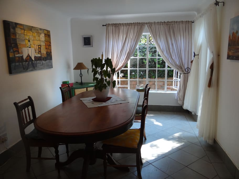 Dining room and main entrance