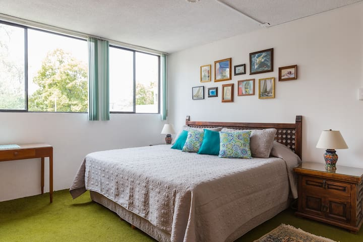 Room 3  House of Light and Color in Coyoacan - Ciudad de México - Bed & Breakfast