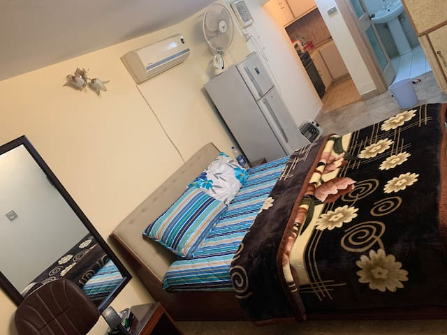 One Bed bath kitchen in the heart of islamabad f6