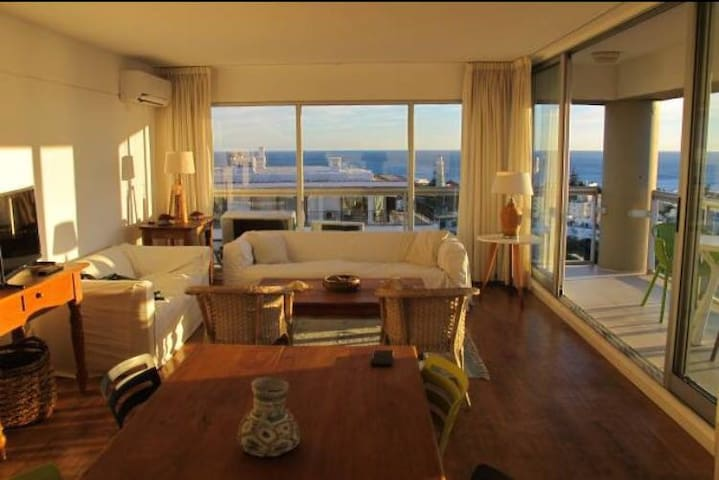 BEST VIEW in Punta del Este | 3BR apt next to Port