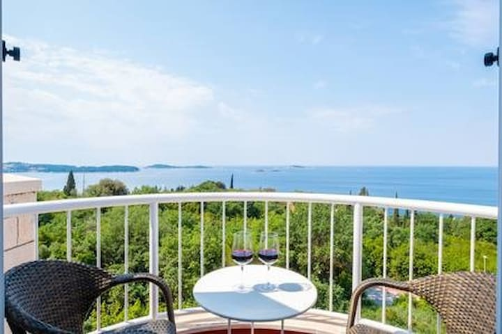 Villa Panorama Plat-Comfort Double Room w Sea View