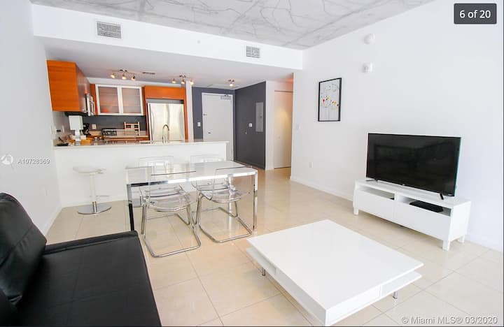 Central Miami Midtown unit / Pool and Gym