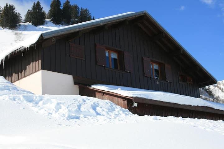 Appartement dans un chalet d'alpage
