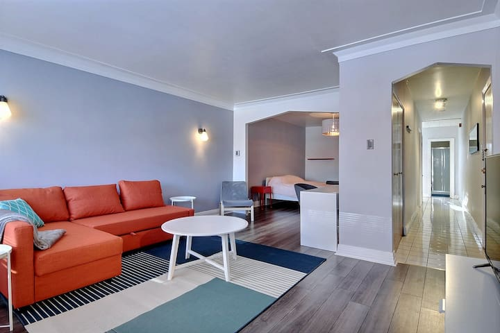 BEST DEAL, nice & cozy, near subway, free parking! - Montréal - Lejlighed
