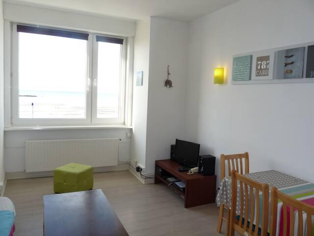Appartement face mer - digue de Malo - Dunkerque