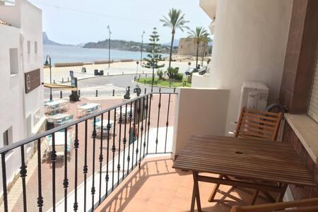 Céntrico apartamento con vistas al mar