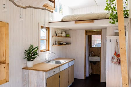 Expérience mini-maison en symbiose avec la nature