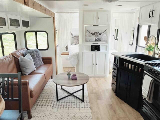 Comfy+Cozy Camper GLAMPING!