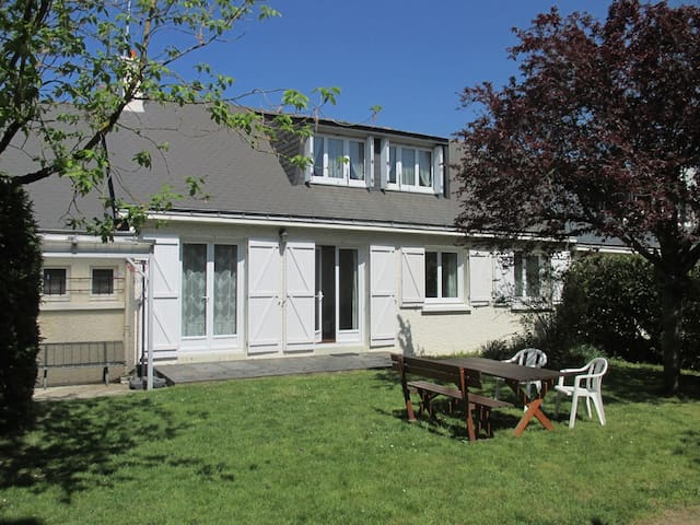 Ancenis: maison agréable,calme, jardin clos au sud