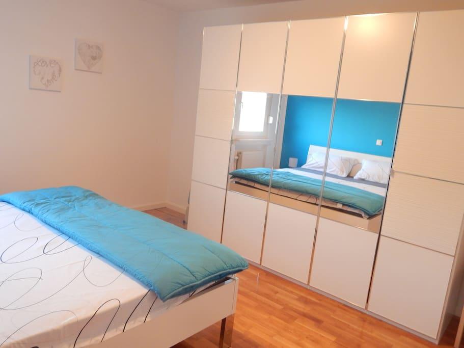 Schlafzimmer1 mit Doppelbett!