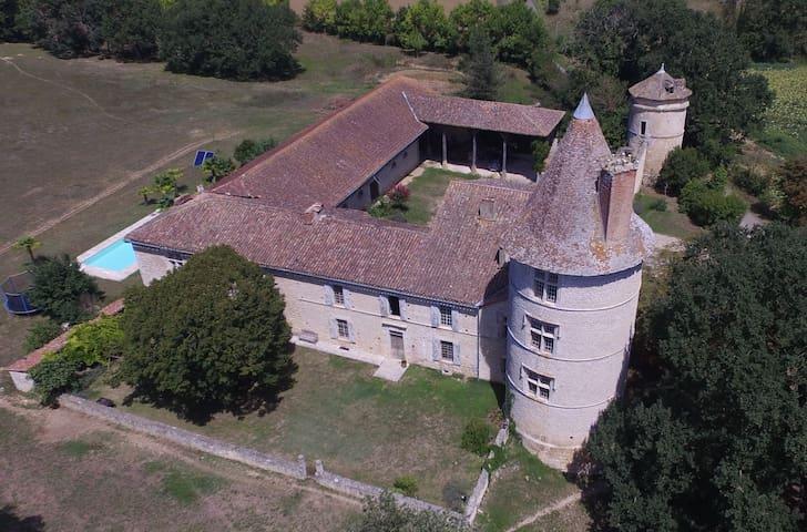 Château Gersois du XVIème - Chambre Shérazade