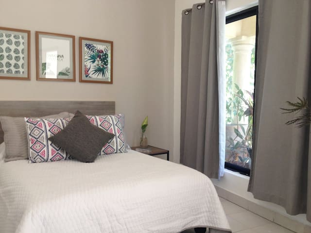 Cozy Private Studio/Apartment at Cabo Downtown.