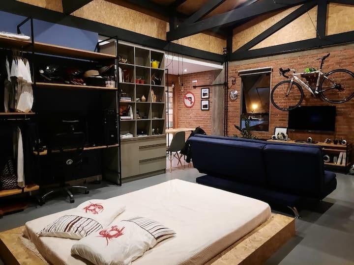 Loft/estúdio