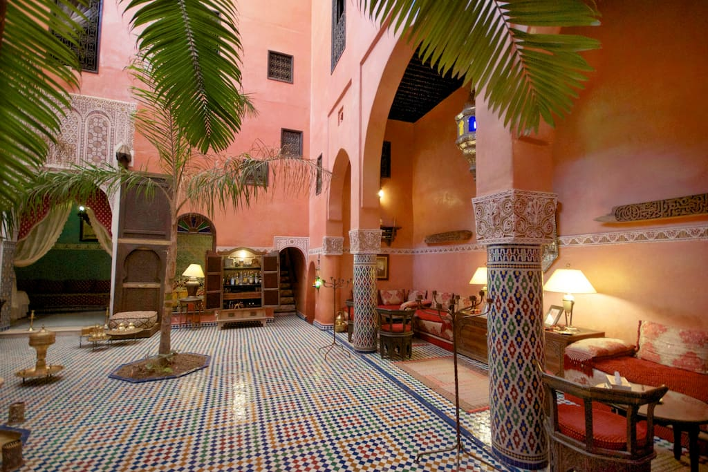 Patio of the Riad