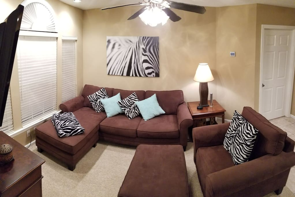 A very comfortable, clean, cozy garage apartment that will make you feel at home!