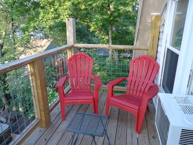 Tree top deck