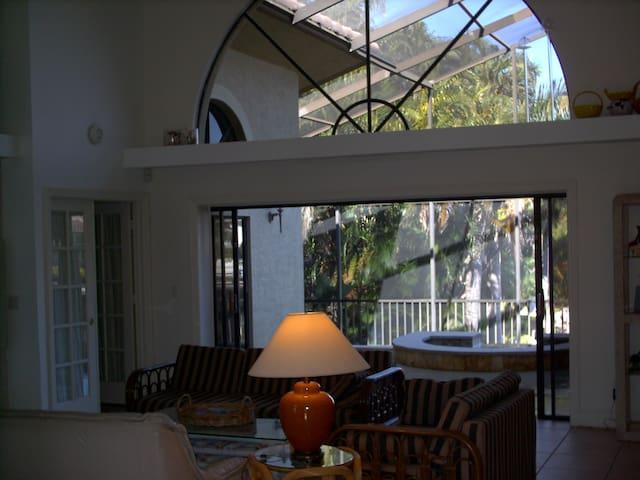 Marco Island Villa, water liviing - Marco Island - Casa