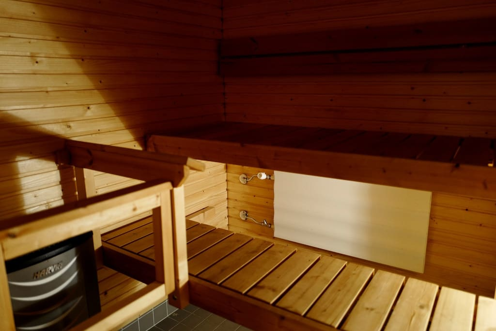 The Sauna. Instructions will be provided!