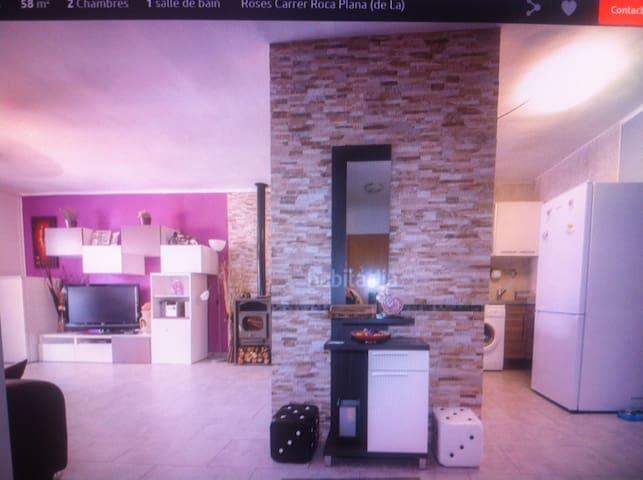 appartement à 100m de la mer - Roses - Apartment