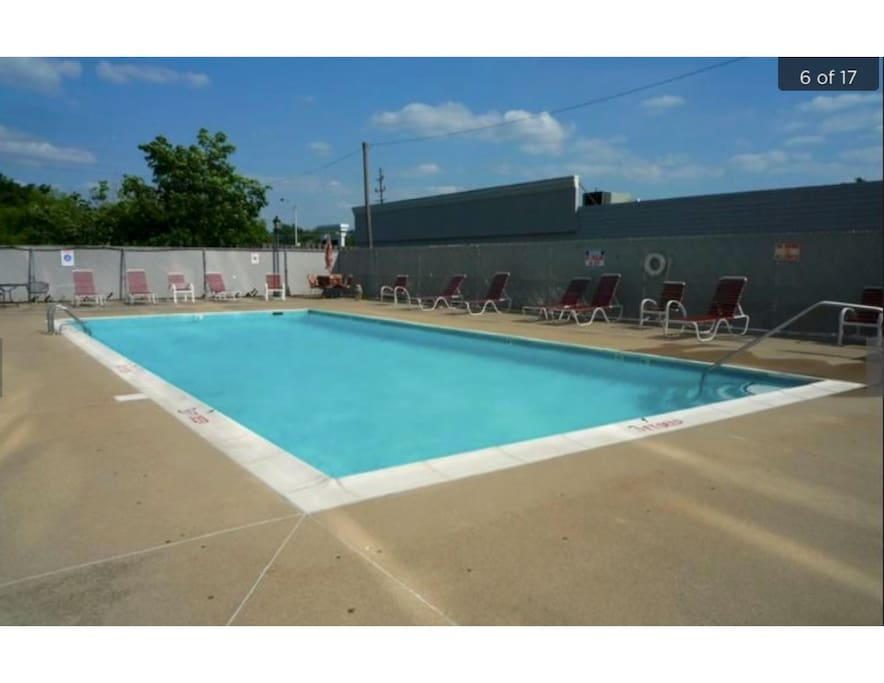 Summer's almost here. Price pool for residents.