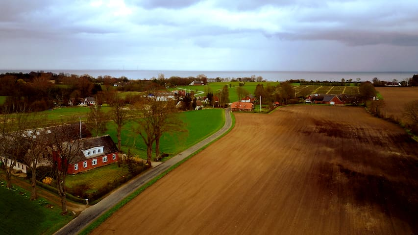 Lindevang 900m fra Revsøre strand - Hesselager - Dům