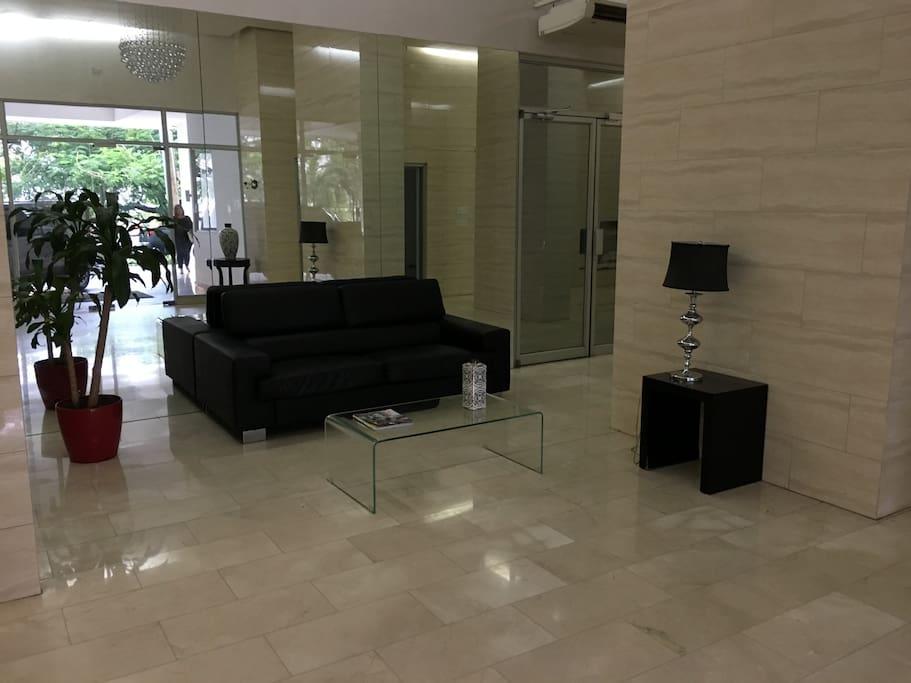 Expansive Lobby