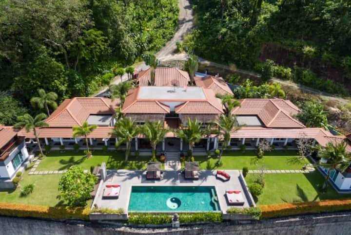 Patong's Most Luxury Villa with Stunning Sea View