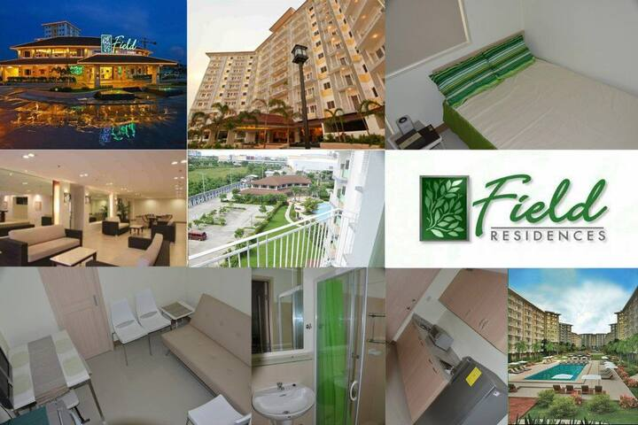 1 Bedroom Condo. Field Residences Paranaque