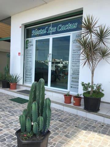 Hostal Los Cactus, Manta-Ecuador