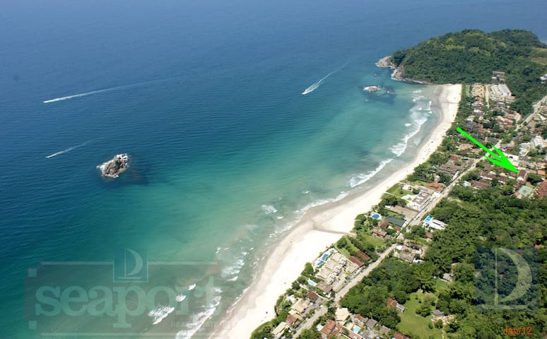 IMÓVEL C/ LINDA VISTA PANORÂMICA DO MAR DE JUQUEHY - Praia do Juquehy - Pis