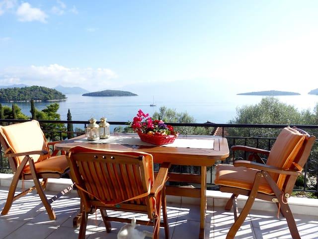 Seaside Villa Korakias - Olive - Geni - Villa