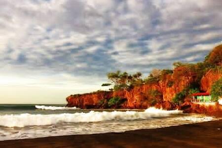 Casa de playa donde se respira paz y tranquilidad