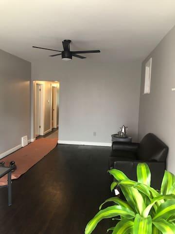 Cozy apartment to call home.