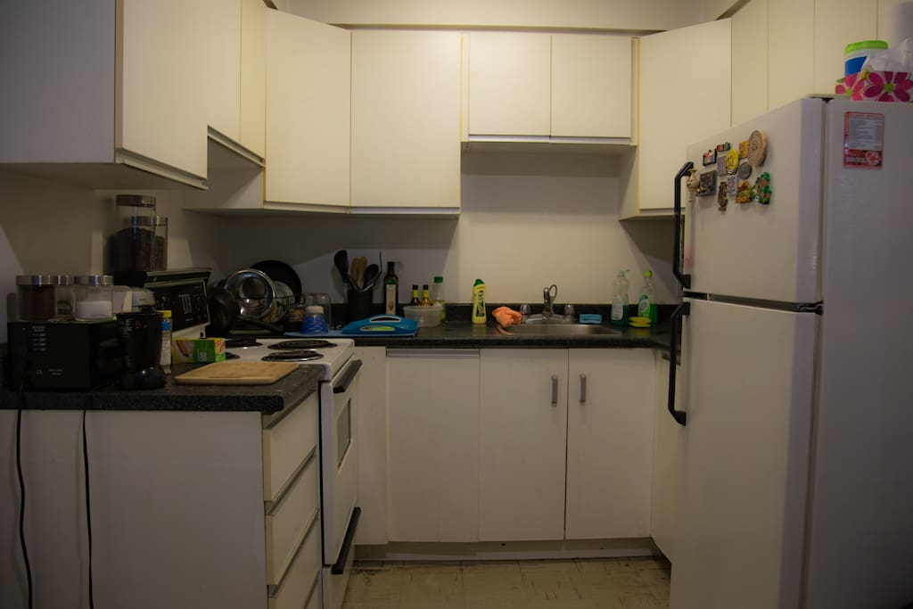Common space Kitchen