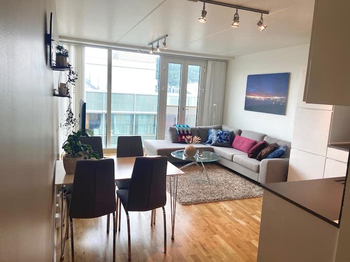 Modern apartment in Tromsø city centre!