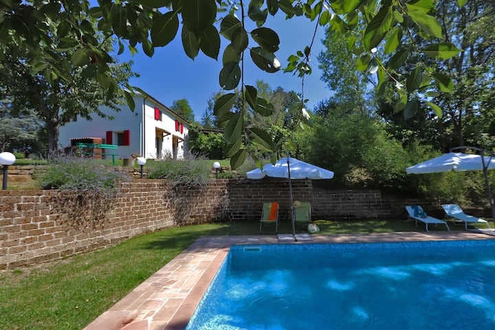 CASA VERDE - Private villa, Pool,  wi-fi, Marche