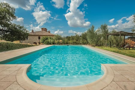 Holiday apartment with 1 bedroom on 50m² in Rapolano Terme -SI-
