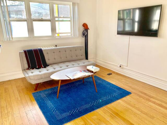 Tasteful, cozy, apt in downtown Toronto (sleeps 4)