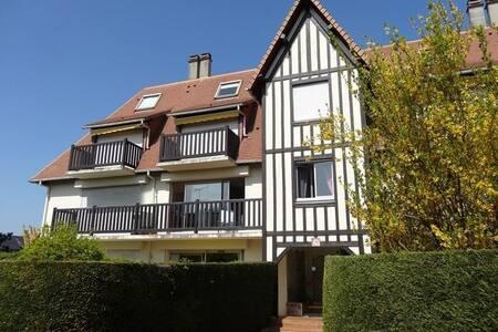 Deauville,Deux pièces, 44 m2, piscine et tennis - Appartamento