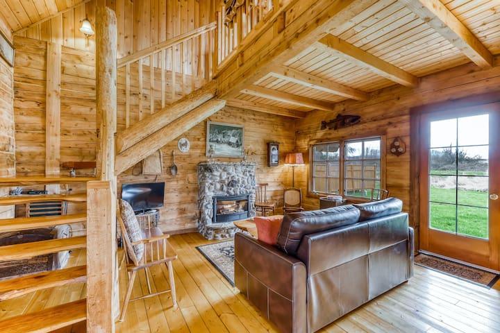 Dreamy, dog-friendly cabin w/ a private hot tub - private airstrip community!