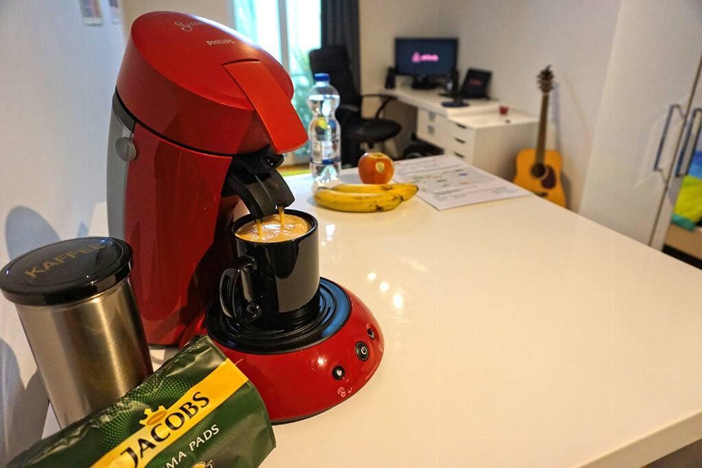 Und natürlich Kaffee!