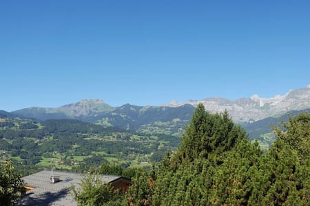 30m2.Cosy.Incredible view.Private outside entrance - Passy - Hus