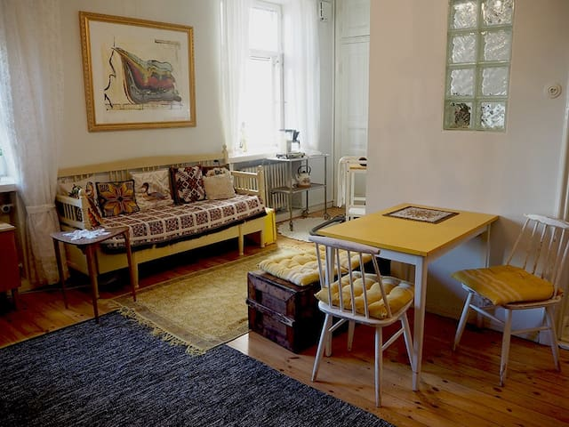 Spacious one room flat in the heart of the Kallio