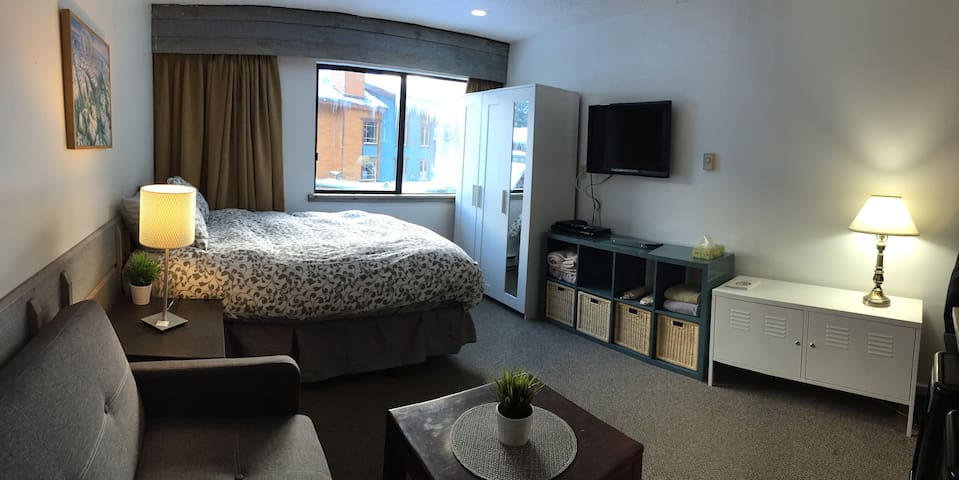 3rd floor 300 sq ft cozy suite - Whistler - Departamento