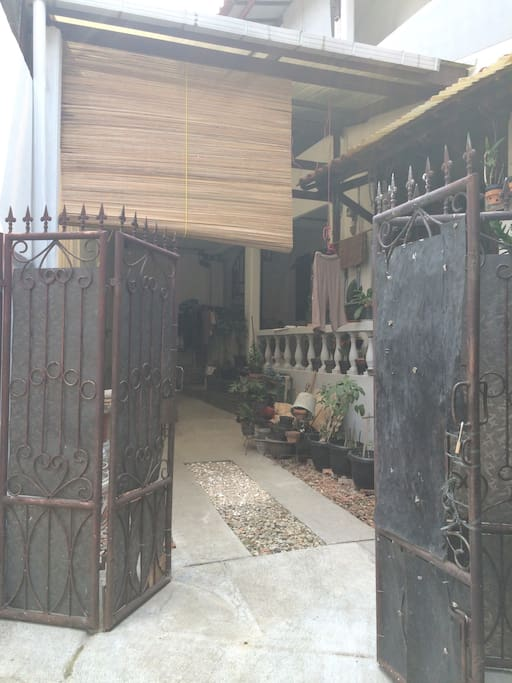 2 story house, guest in 2nd floor, owner in 1st floor, the house have 2 meter front gate, security is our priority, no unauthorized people can enter the property
