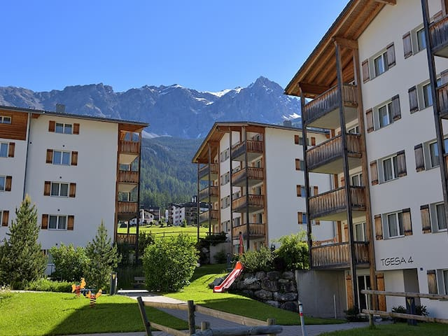 Surses Alpin*, (Savognin), 750, Apartment with 2.5 rooms - 4 beds