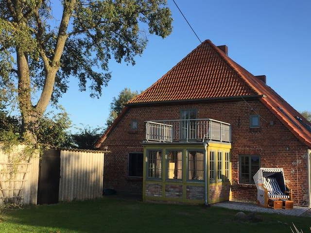 Historisches Bauernhaus1840, Mursewiek20 auf Rügen